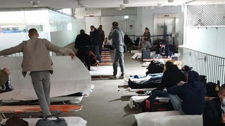 Продолжение истории с застрявшими в Париже гражданами Молдовы: представители авиакомпании отвергают обвинения властей
