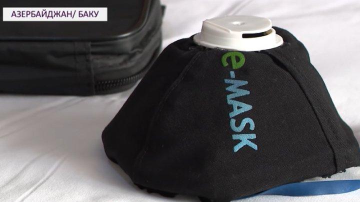 Житель Баку изобрел электронную маску, которая убивает коронавирус (ВИДЕО)