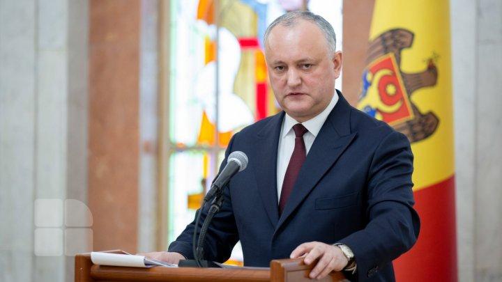 Реакция президента Игоря Додона на дипломатический скандал: Это нужно прекратить