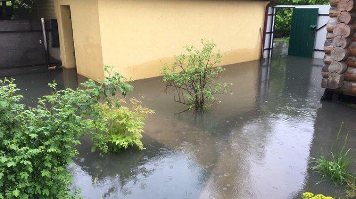 Затопления в подмосковном Красногорске: уровень воды в реках поднялся на 3-4 метра