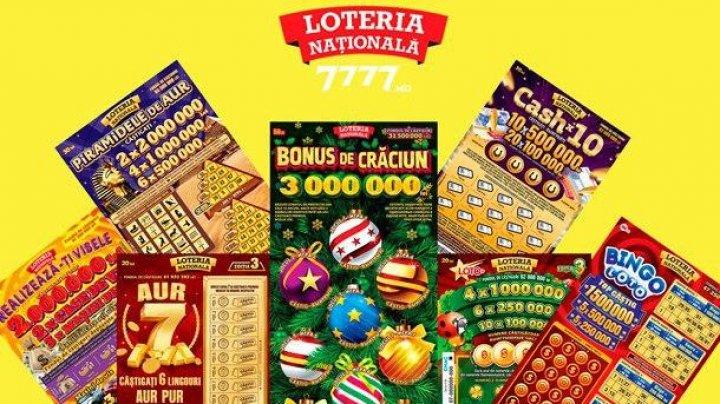 Более 5 миллионов леев выиграли участники Национальной лотереи за период ЧП