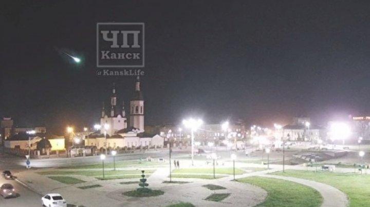 В Красноярском крае упал метеорит (ВИДЕО)