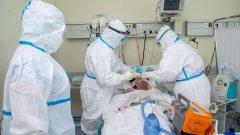 врачи, больница, интубация, ИВЛ