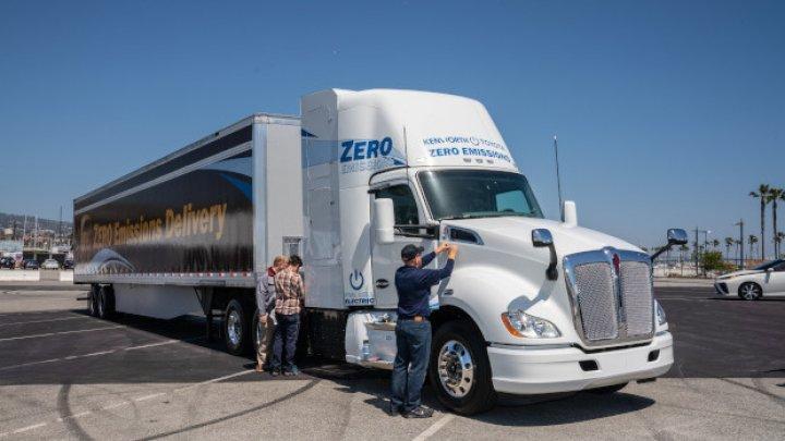 Калифорния запретит новые грузовики с двигателями внутреннего сгорания