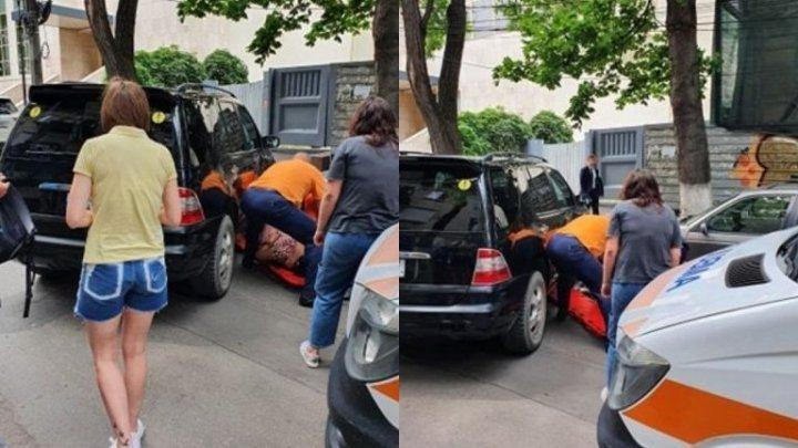 В столице автоледи спровоцировала аварию и сбила свою мать (ФОТО)