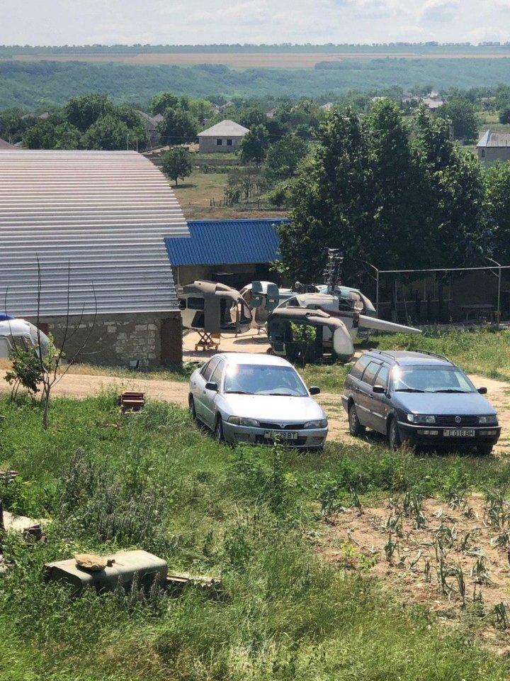 ЭКСКЛЮЗИВ: фото с места подпольной сборки вертолетов в Криулянском районе