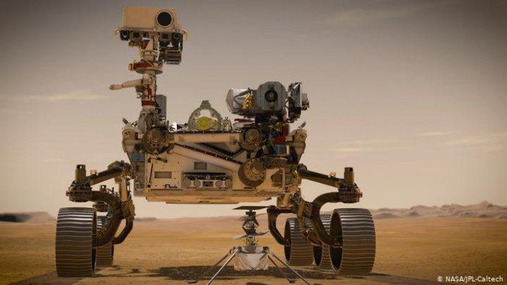 NASA отправила новый марсоход для поиска следов жизни на Красной планете