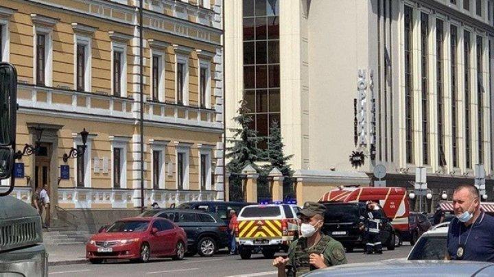 В Киеве задержан мужчина, угрожавший взорвать банк