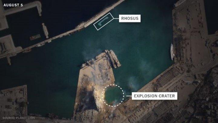 New York Times: судно, доставившее в Бейрут груз аммиачной селитры, затонуло (ФОТО)