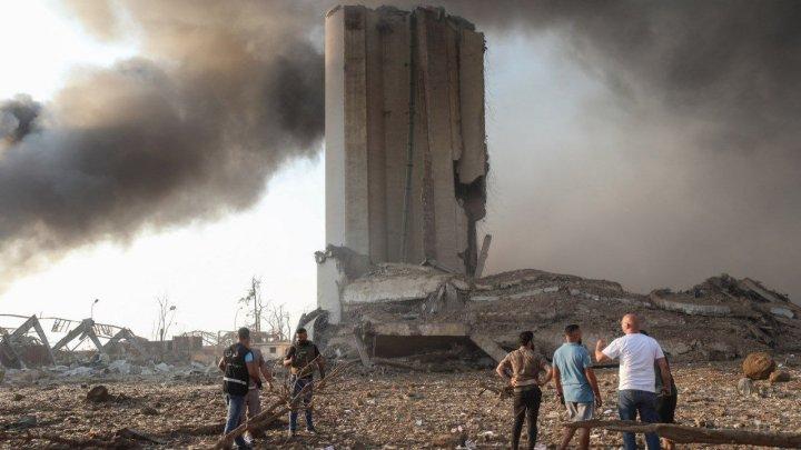 """""""Пострадала половина города"""": звук взрыва в Бейруте слышали на Кипре. Фотогалерея разрушений в столице Ливана"""