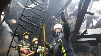 Пепелище на месте Национальной филармонии: пожар уничтожил почти все, ущерб невосполним