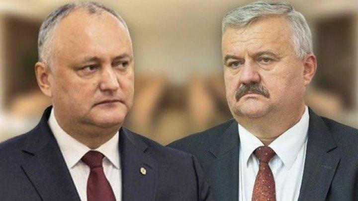 Додон пригрозил Шарову: Мы сможем принять в его отношении другие меры, в том числе политические