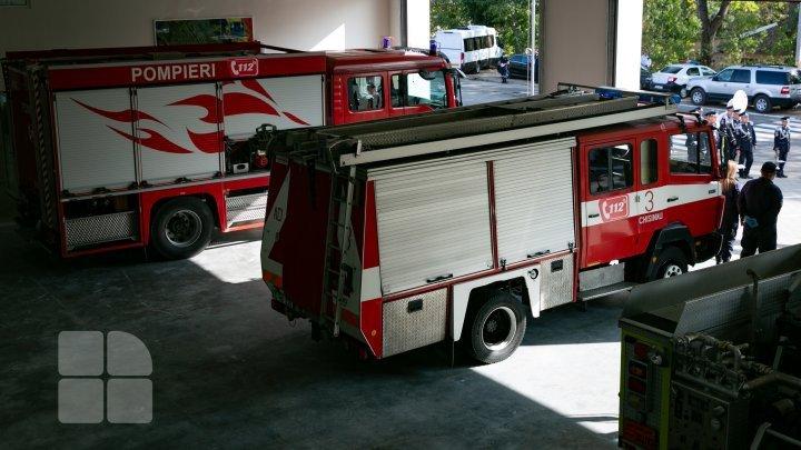 В Хынчештском районе открыли новую базу с вертолетной площадкой для спасателей и пожарных