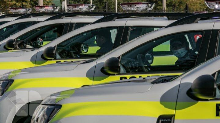 Молдавская полиция получила 52 новых современных внедорожника (ФОТОРЕПОРТАЖ)