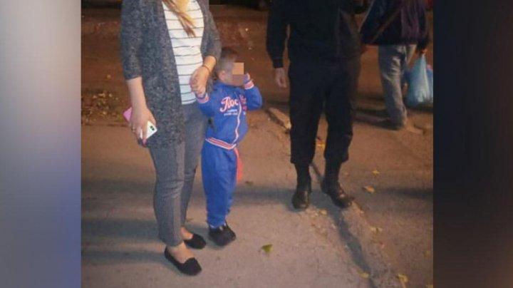 В Бельцах карабинеры нашли потерявшегося во время прогулки ребёнка