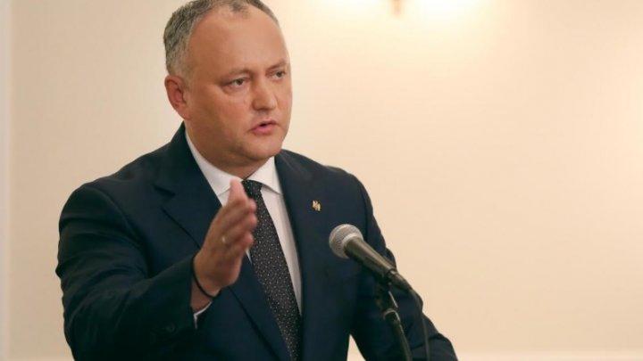 Реакция Игоря Додона на возможные протесты в случае его победы на выборах 1 ноября