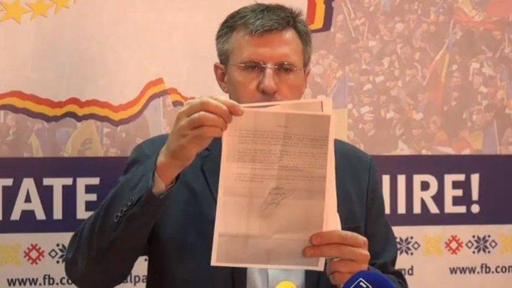 Дорин Киртоакэ утверждает, что президент Игорь Додон подал на него в суд