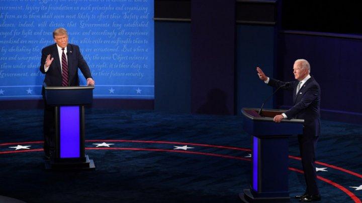 """""""Да заткнись уже!"""": Дональд Трамп и Джо Байден провели первые предвыборные дебаты"""