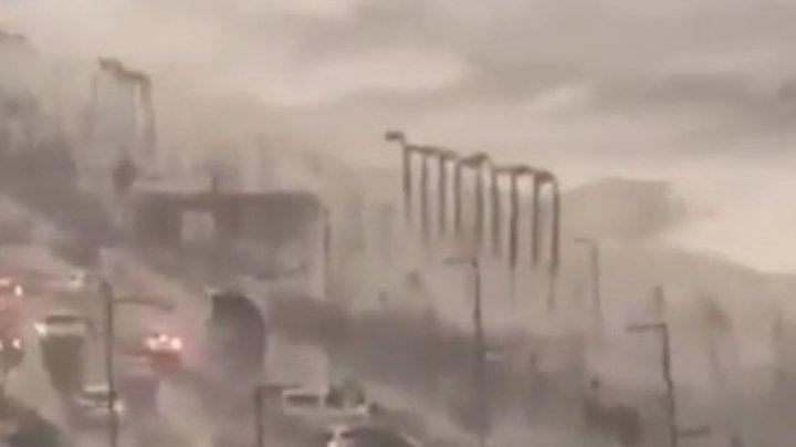 Разгул стихии: ураган c градом убил женщину в турецкой Анталии (ВИДЕО)