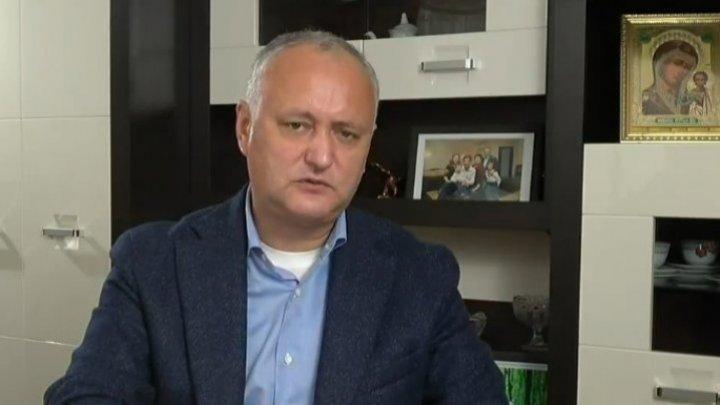 Игорь Додон рассказал, почему отказался от общения со своими оппонентами на дебатах