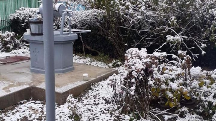 Шолдэнештский район накрыло белым покрывалом, пользователи интернета делятся ФОТО