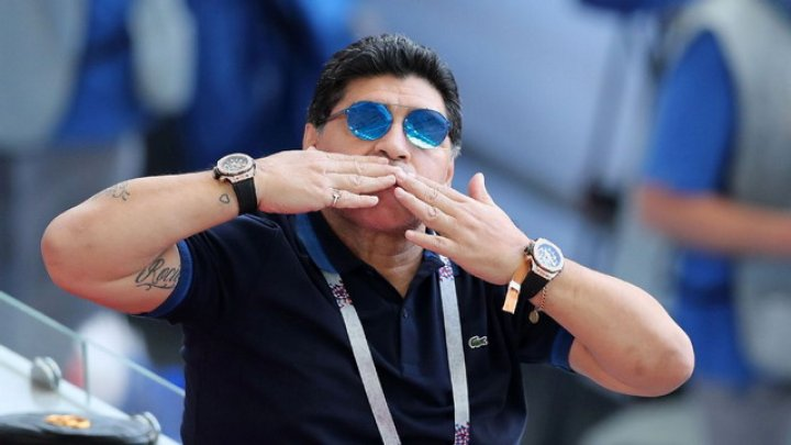 В Аргентине прощаются с Диего Марадоной: легенду футбола провожают аплодисментами