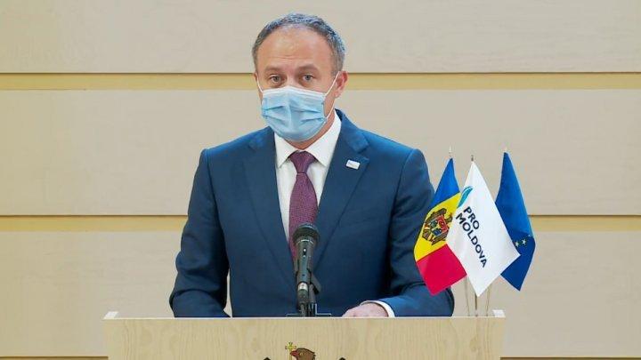 """Лидер PRO MOLDOVA призвал граждан мобилизоваться, чтобы """"дать шанс государству"""""""