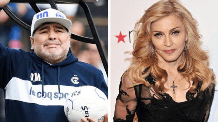 В Интернете некоторые пользователи случайно похоронили Мадонну вместо Марадоны (ФОТО)