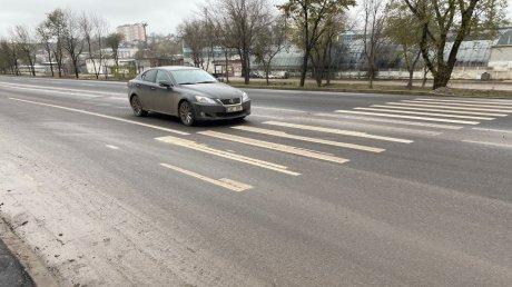 Мэрия Кишинева раскритиковала работы по нанесению дорожной разметки на улице Албишоара