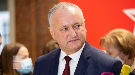 Реакция Игоря Додона на решение КС относительно самороспуска парламента