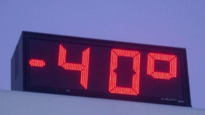 Аномальные морозы сковали автобусное сообщение с Новосибирском