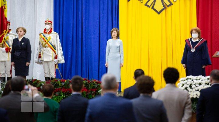 У Молдовы новый президент: Как прошла церемония инаугурации Майи Санду (ФОТОРЕПОРТАЖ)
