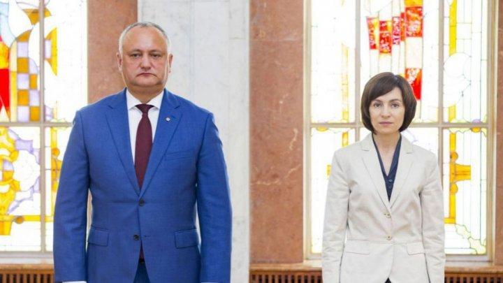 Игорь Додон обвинил Майю Санду в давлении на Конституционный суд, чтобы сменить состав действующего кабмина
