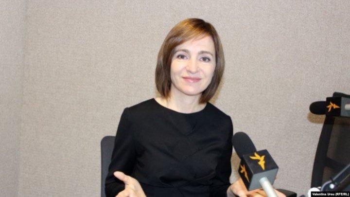 Майя Санду - Сергею Лаврову: Нет ничего нового как в позиции Молдовы, так и в позиции России