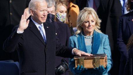 Джо Байден вступил в должность президента США (ВИДЕО)