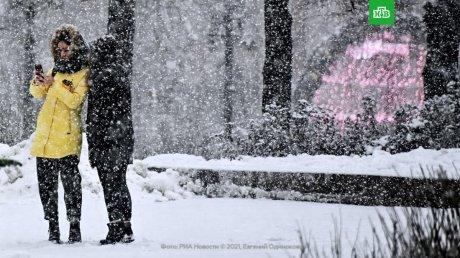 Зима показывает характер: снегопады накрыли регионы Украины, Румынии, России и Беларуси