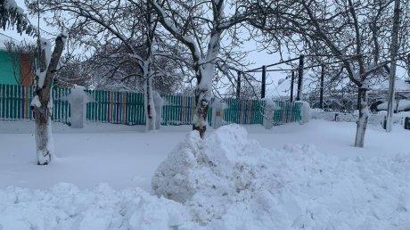 Такого снегопада давно не помнят здешние места: в Штефан-Водском районе толщина снега превышает метр (ФОТО)