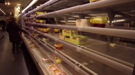 """Первые проблемы после """"брексита"""": в британских супермаркетах опустели полки с овощами и фруктами"""