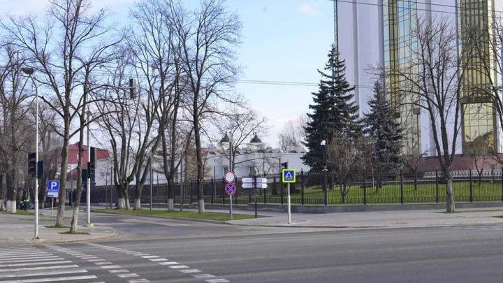 Движение на столичной улице Сфатул Цэрий вновь открыто для всех водителей