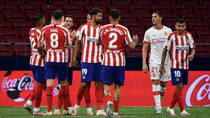 """Мадридский """"Атлетико"""" продолжил победную поступь в чемпионате Испании по футболу"""