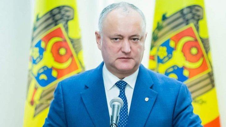 Додон раскритиковал Майю Санду и заявил об угрозе интересам и безопасности Молдовы