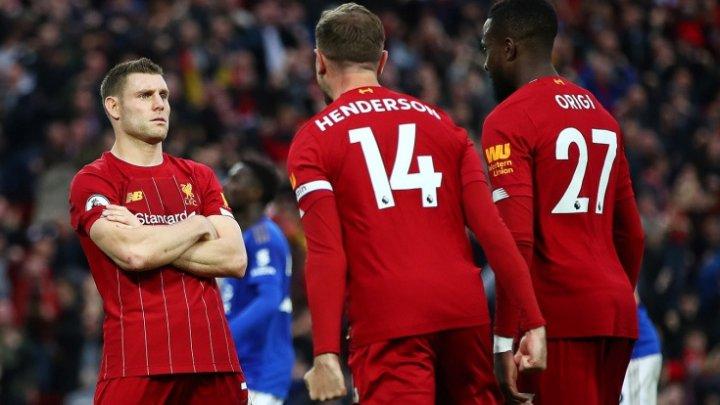 """Чемпионат Англии по футболу: """"Ливерпуль"""" в 18-м туре проиграл на своем поле """"Бёрнли"""""""