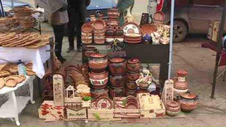 В Страшенах организовали ярмарку народных мастеров и местных производителей