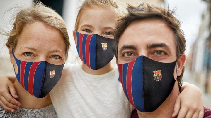 """В Испании выбрали самые лучшие защитные маски: при чём тут """"Барселона"""""""
