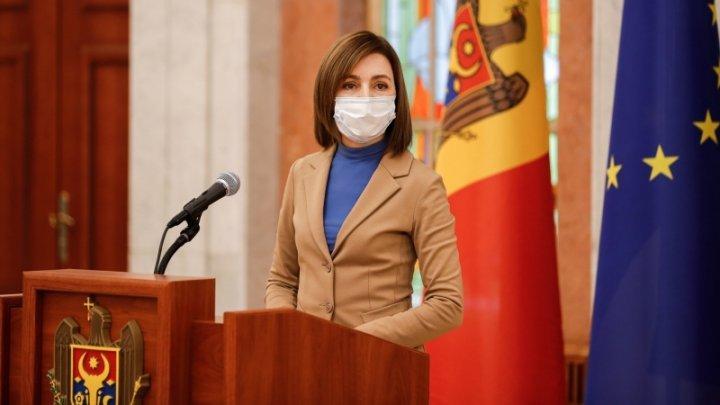 Президент Майя Санду рассказала, когда привьется от коронавируса