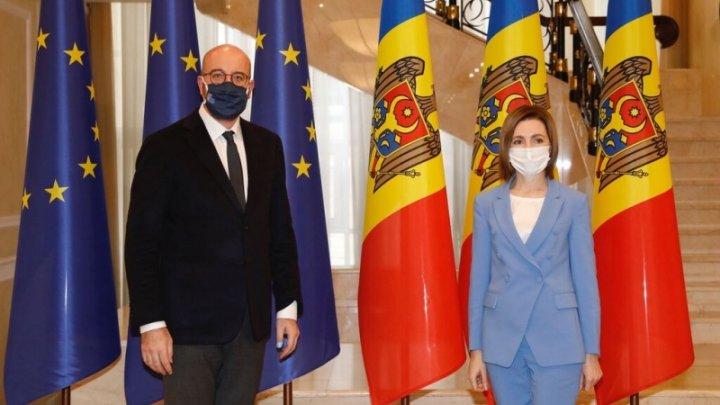 Итоги визита главы Евросовета в Кишинёв
