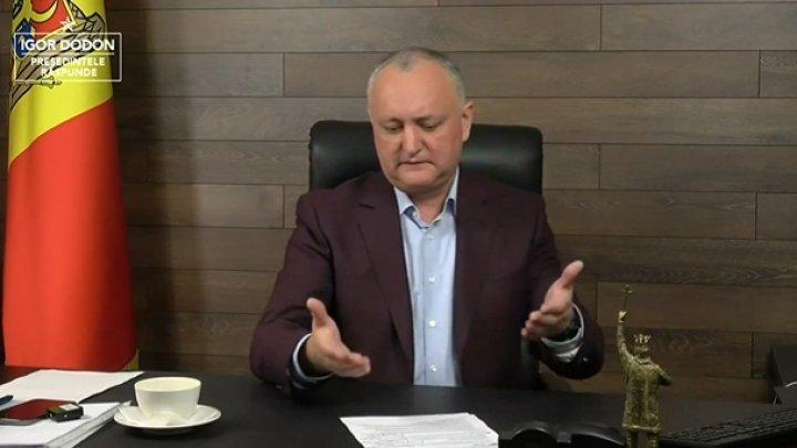 Игорь Додон о Майе Санду в связи с поставками вакцины из России: У нее заело пластинку