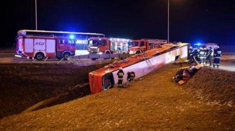 В МИД Украины назвали предварительную причину смертельного ДТП с автобусом в Польше