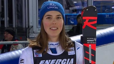 Словацкая горнолыжница Петра Влхова одержала седьмую победу подряд на этапах Кубка мира