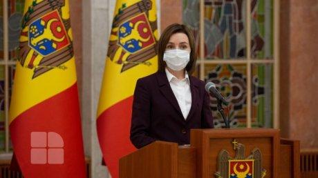 Майя Санду: Необходимо дождаться вердиктов КС о законности объявления режима ЧП в Молдове